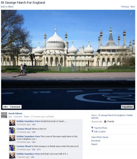 EDL Brighton Pavillion